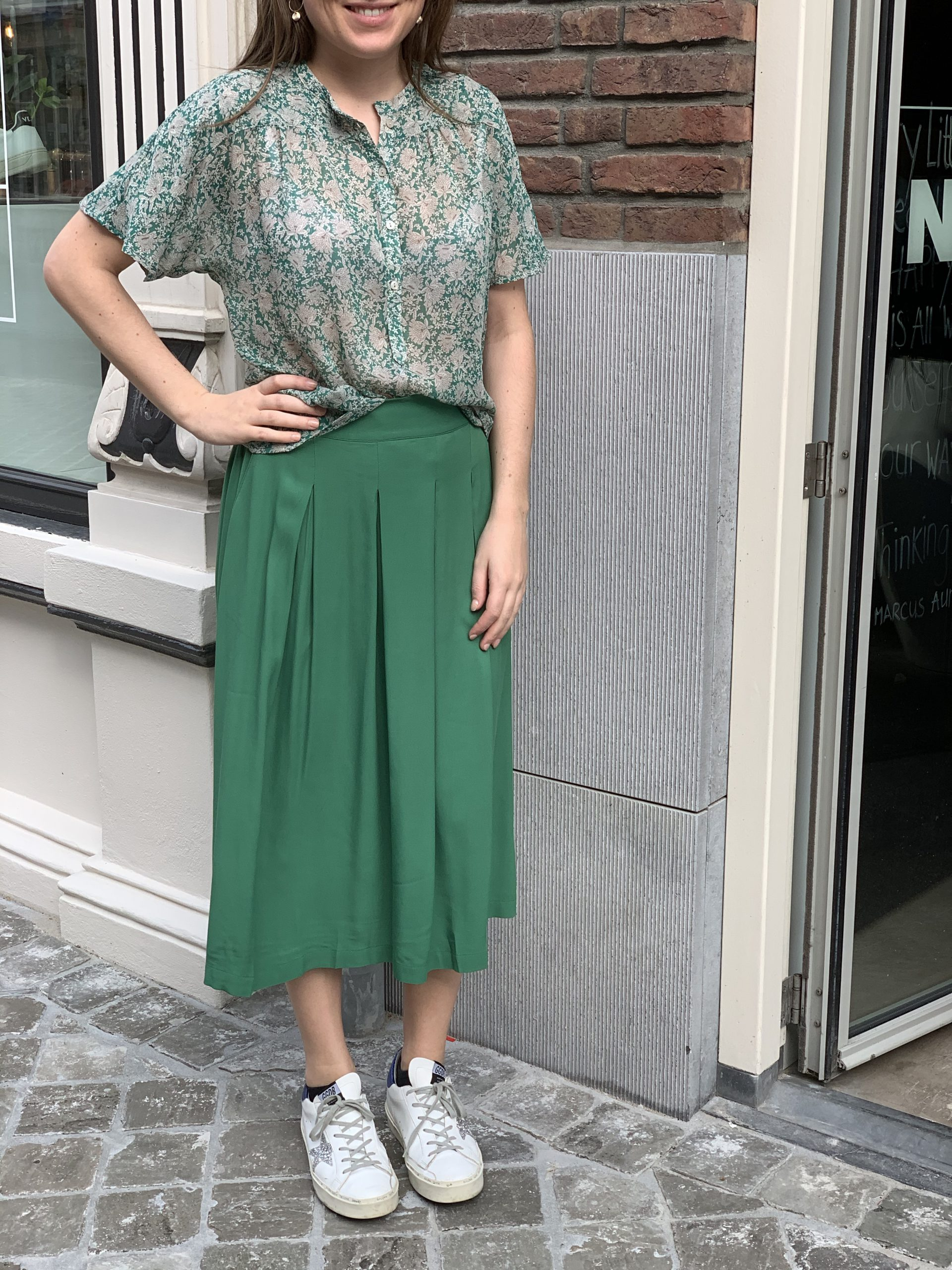 By-Bar Blouse €99,95 <br /> By-Bar Rok €119,95